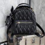 กระเป๋าเป้แบรนด์ KEEP หนังแท้ มี 2 สี ดำ เงิน