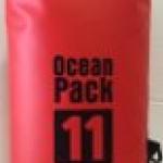 กระเป๋ากันน้ำ Ocean Pack 11L-สีแดง
