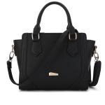 พร้อมส่ง ขายส่งกระเป๋าถือผู้หญิง คุณนายวัยทำงาน ผู้ใหญ่ เรียบหรู แฟชั่นยุโรป Sunny-878 สีดำ