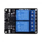 รีเลย์ 5V 2-Channel Relay Module Shield for Arduino ARM PIC AVR / ACTIVE LOW