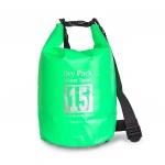 กระเป๋ากันน้ำ Dry pack 15L-สีเขียวแอปเปิ้ล