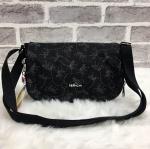 กระเป๋าแฟชั่น แบรนด์ Kipling รุ่น Basic Plus Shoulder Bag มี 3 ลาย สีดำลายลิง, สีดำลายดอก, ลายดอกสีฟ้า+แดง