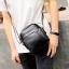 พร้อมส่ง กระเป๋าผู้ชายสะพายข้างใบเล็ก แฟชั่นเกาหลี รหัส Man-9839 สีดำ thumbnail 1