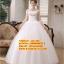 ชุดแต่งงานราคาถูก เกาะอก ws-141 pre-order สินค้าส่งท้ายปี 2016 thumbnail 1