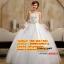 ชุดแต่งงานราคาถูก กระโปรงสุ่มผูกโบว์ใหญ่ ws-2017-042 pre-order thumbnail 1