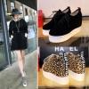 Preorder รองเท้าแฟชั่น สไตล์เกาหลี 32-43 รหัส 9DA-9843