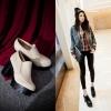 Preorder รองเท้าแฟชั่น สไตล์เกาหลี 34-43 รหัส 9DA-7827