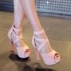 Preorder รองเท้าแฟชั่น รองเท้าส้นสูง รองเท้าผู้หญิง 33-43 รหัส N5-0992
