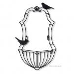 เหล็กดัดลาย - WIRE ART BIRD CAGE