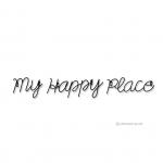 เหล็กดัดลาย - WIRE ART MY HAPPY PLACE