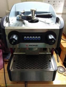 เครื่องชงกาแฟ PROMAC CLUB ME 1G ตั้งระดับน้ำได้ มือสอง สภาพใหม่ 95% [ขายแล้ว]