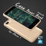 เคสพาวเวอร์แบงค์ Remax iPhone7 Energy Jacket สีทอง