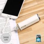 รับประกันสินค้า 1 ปี โดย Remax (Thailand) พาวเวอร์แบงค์ REMAX 5000mAh (RPL-26) สีขาว