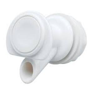 SPIGOT WHITE PLASTIC SP 10P