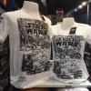 สตาร์วอร์ สีดำ (Star Wars fight white)