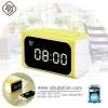 รับประกันสินค้า 1 ปี โดย Remax (Thailand) ปลั๊ก REMAX Hub Alarm Clock 4USB (RMC-05) สีเหลือง