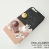 เคส iPhone 7 Plus หมีนูน สีดำ BKK