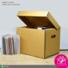 กล่องใส่เอกสารขนาด 30(กว้าง) x 39(ยาว) x 30(สูง) cm.