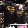 ซุปเปอร์แมน สีดำ (Superman gold red logo)