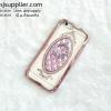 เคส iPhone6/6s แหวนเพชรตั้งได้ สีชมพู
