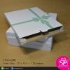 กล่องลูกฟูกฝาลิ้นหัวท้าย ขนาด 12 x 15.5 x 1.25 นิ้ว หรือ 30.3 x 39.2 x 3.2 ซม. (วัดใน) (บรรจุ 25 กล่องต่อแพ็ค)