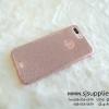 เคส iPhone 7 Plus 3 ชั้นกากเพชร สีชมพู