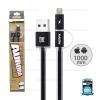 สายชาร์จ 2in1 (i5/i6/i7&Micro USB) AURORA Remax สีดำ