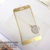ฟิล์มกระจก Samsung Note5 เต็มจอ สีทอง