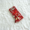 เคส Samsung J2 แหวนกระต่าย สีแดง