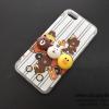 เคส iPhone 7 หมีนูน สีขาว BKK
