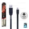 สายชาร์จ Full Speed (Micro USB) 1เมตร Remax สีดำ