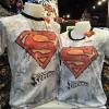 ซุปเปอร์แมน สีขาว (Superman logo red)