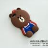 เคส iPhone6/6s หมีบราวน์ เอี้ยม