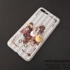 เคส iPhone 7 Plus หมีนูน สีขาว BKK