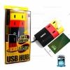 รับประกันสินค้า 1 ปี โดย Remax (Thailand) ปลั๊ก Remax USB HUB 4 Port