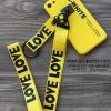 เคส Samsung J2 Prime สายเลิฟ สีเหลือง BKK