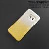 เคส Samsung S7 Edge กากเพชรไล่สี 2 ชั้น สีเหลือง