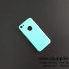 เคส iPhone7 สีทึบมีแหวน สีเขียวมิ้นต์