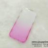 เคส iPhone5/5s/SE เพชรข้าง TPU สีชมพู