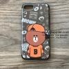 เคส iPhone 7 หมีบีบอย สีน้ำตาล BKK