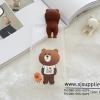 เคส Samsung J7 TPU หมีบราวน์เกาะ+มีไฟ