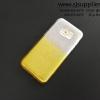 เคส Samsung S7 Edge กากเพชรไล่สี สีเหลือง