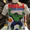 เดอะฮักล์ สีขาว (Hulk logo red)