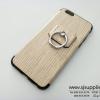 เคส iPhone 7 แหวนลายไม้ สีครีม BKK