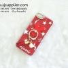 เคส iPhone 6/6s แหวนกระต่าย สีแดง