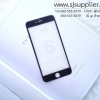 ฟิล์มกระจก iPhone6/6s (เต็มจอ 4D) สีดำ