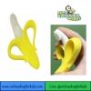 (มือสอง) ยางกัด-แปรงนวดเหงือก Baby Banana Infant Training Toothbrush, Bananna