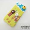 เคส iPhone 6/6s หมีนูน สีเขียว BKK