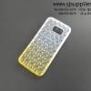 เคสซัมซุง S7 edge เพชร TPU สีเหลือง