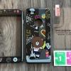 เคส iPhone 6/6s Plus ประกบลายBrown Rock มีสาย+ฟิล์มกระจก BKK